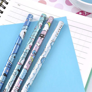 Jinbei-San pencils at CoolPencilCase.com