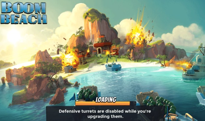 Game RTS Android - Boom Beach