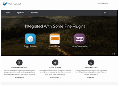 Vantage Wordpress Theme