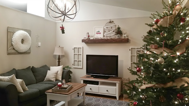 rustic holiday Christmas home decor ideas
