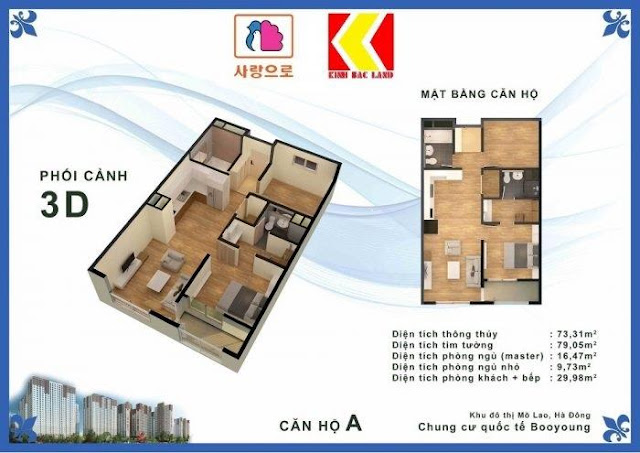 Chọn căn hộ Chung cư Booyoung Hình 1
