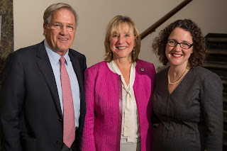 Scott Harshbarger, former Massachusetts Attorney General and Senior Counsel at Proskauer Rose LLC; Senator Karen Spilka; Naoka Carey, Executive Director, Citizens for Juvenile Justice