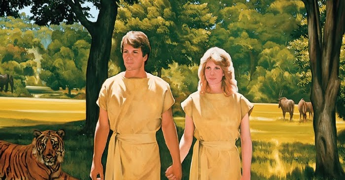 Image result for adam and eve mormon