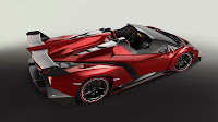 Lamborghini Veneno Roadster top side