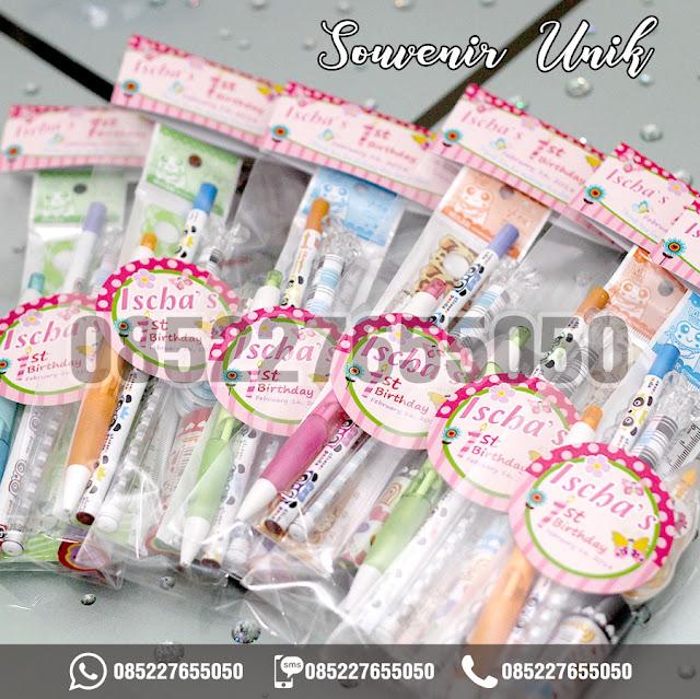 souvenir unik, souvenir alat tulis, 0852-2765-5050