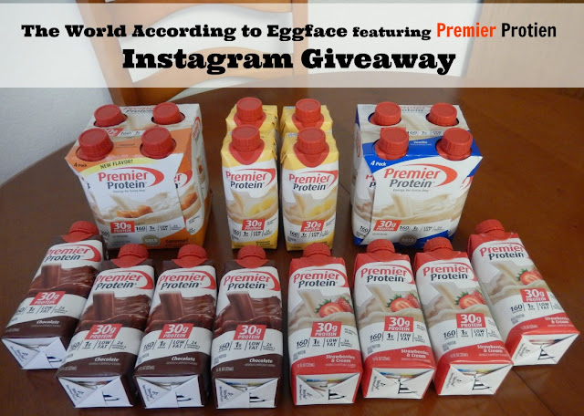 Eggface%2BInstagram%2BPremier%2BProtein%2BShake%2BGiveaway%2B Weight Loss Recipes Breakfast Ideas with Premier Protein