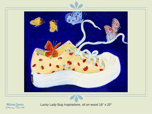 Lucky Lady Bug Inspirations by Minaz Jantz