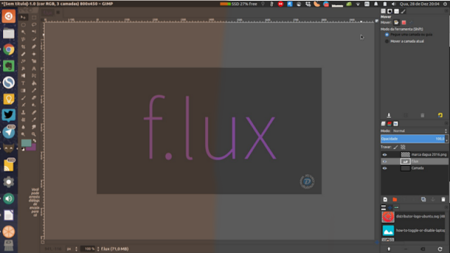 Flux no Ubuntu