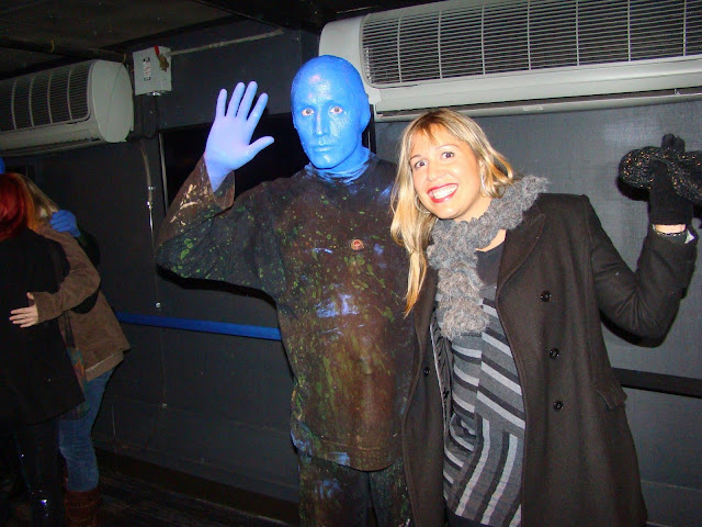 NEW YORK - BLUE MAN GROUP NO ASTOR PLACE