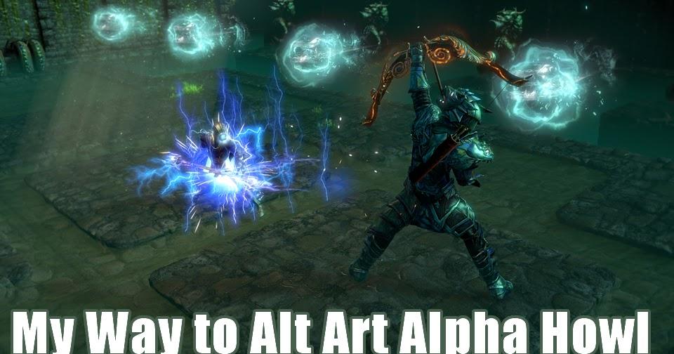 My Way to Alt Art Alpha Howl