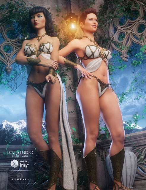 Eternal Outfit for Genesis 3 Female