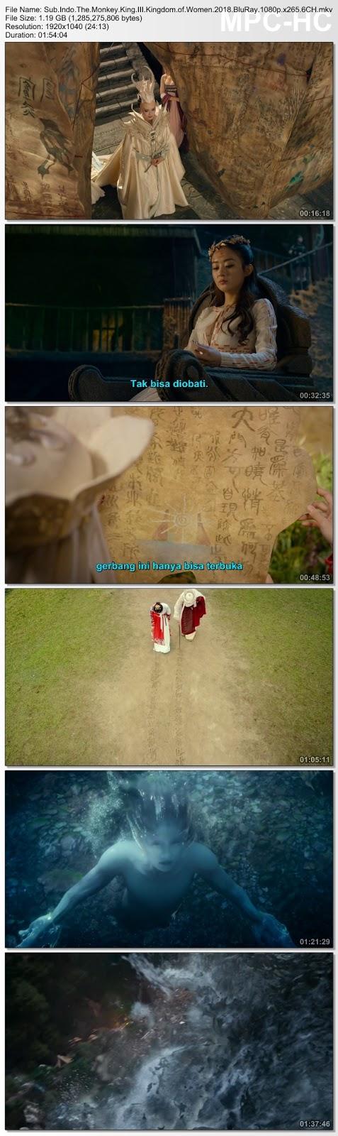 Screenshots Download Film Gratis The Monkey King 3: Kingdom of Women aka Xi you ji zhi nü er guo (2018) BluRay 480p MP4 Subtitle Bahasa Indonesia 3GP