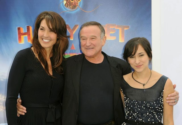 Robin Williams' children and wife  fight over his luxurious estate