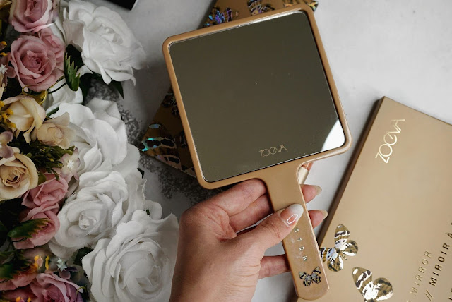 THE MELODY COLLECTION MIRROR BY ZOEVA - REVIEW , SWATCHES AND FINAL LOOK