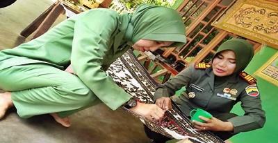 Tuti Andayani, Danramil Wanita Pertama