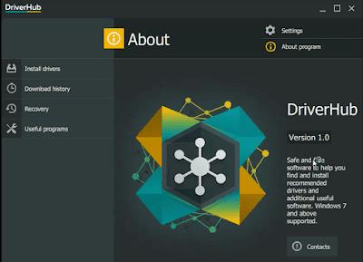 تحديث وتحميل تعريفات الكمبيوتر الناقصة مجانا وبنقرة زر واحدة مع برنامج DriverHub الجديد