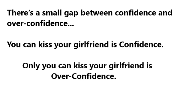 funny confidence jokes