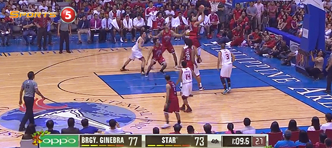 Aljon Mariano Scores The CLUTCH Putback vs Star (VIDEO)