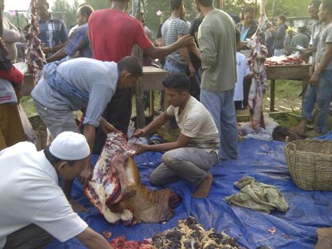 Daging Meugang di Abdya Tembus Rp.190 Ribu Perkilo