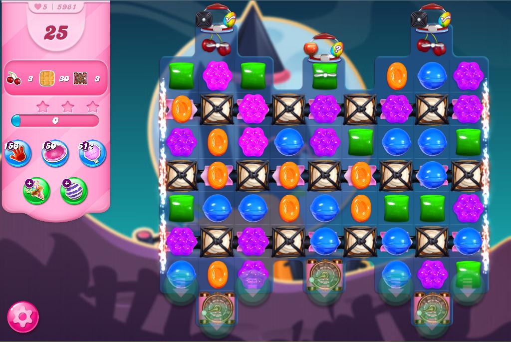 Candy Crush Saga level 5981