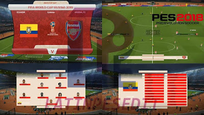 PES 2018 Scoreboard FIFA World Cup Russia 2018 by JAS