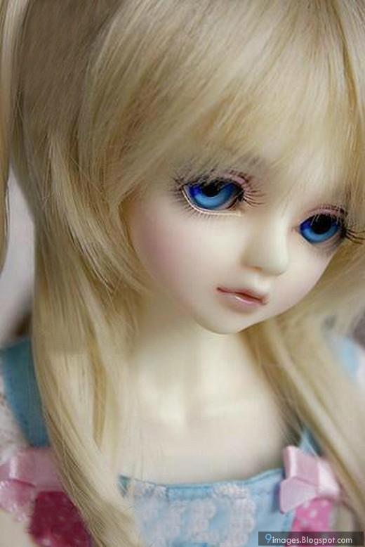 Emo Boy And Girl Kiss Wallpaper Doll Girl Cute Innocent Beautiful Blue Eyes