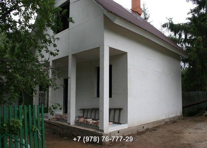 Каркасные дома ЛСТК цена