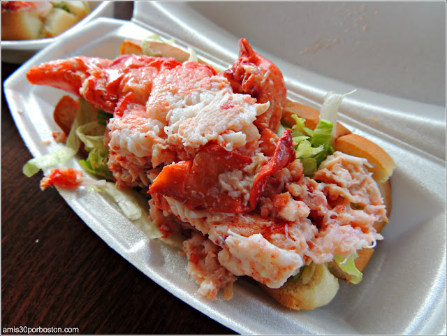 Lobster Roll de Nueva Inglaterra