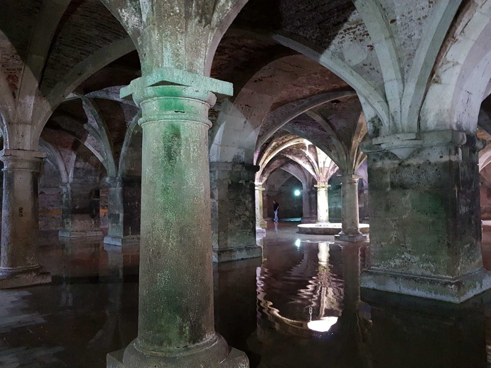Cisterna Portuguesa, El Jadida, Marrocos.