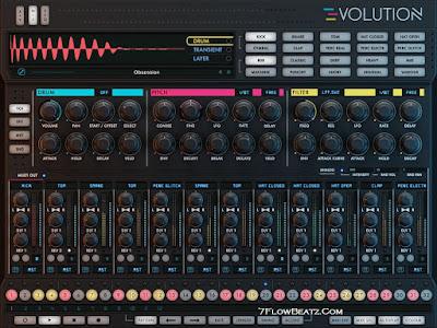 Free Powerful modern virtual drum machine Evolution 2018