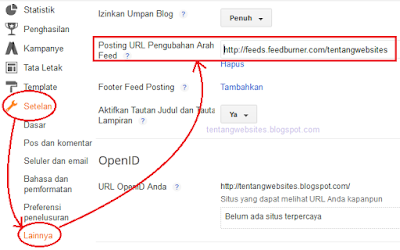Cara membuat rss feed blogspot