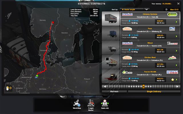 World of Trucks kontrakter