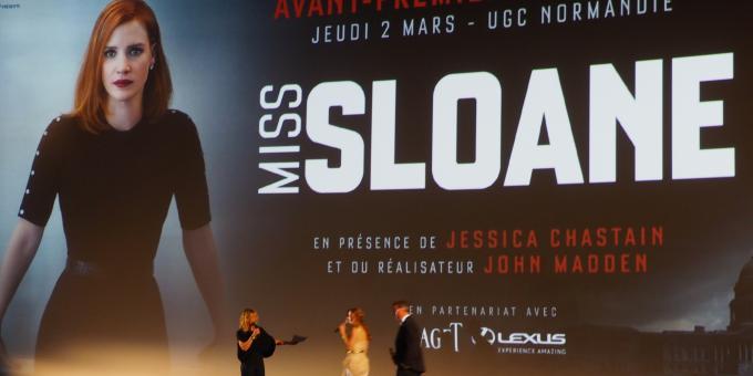 Miss Sloane : un thriller politique captivant - Cinéma