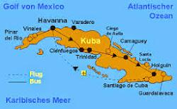 Karte Kuba Varadero.Vivirkuba