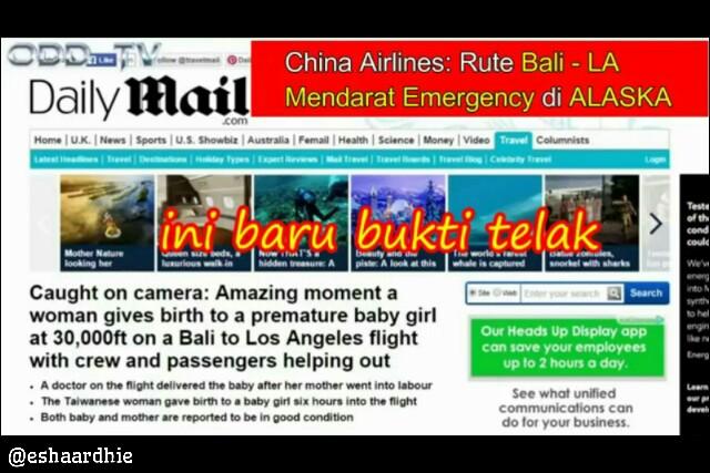 Mengupas Kebohongan Konspirasi Bumi Datar (3) : Penerbangan Dari Bali Ke Los Angeles