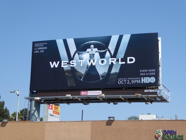 Westworld season 1 billboard