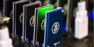 Perkembangan Perangkat Mining Bitcion
