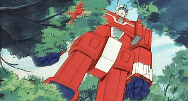 anime mecha jaman dulu