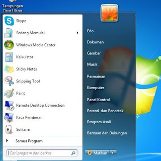 Cara Mudah Merubah Bahasa Antarmuka Windows 7