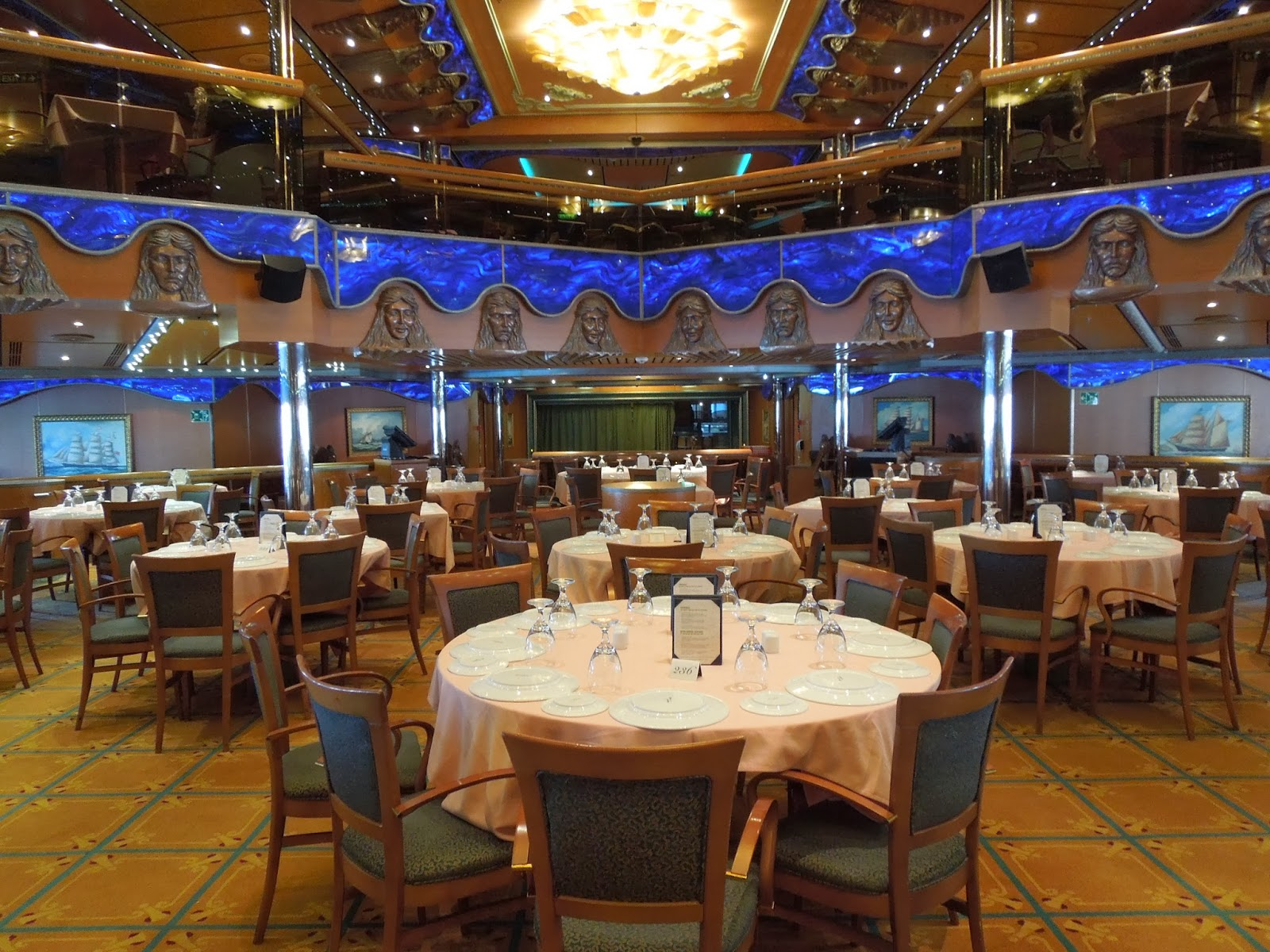 Carnival Victory Atlantic Dining Room