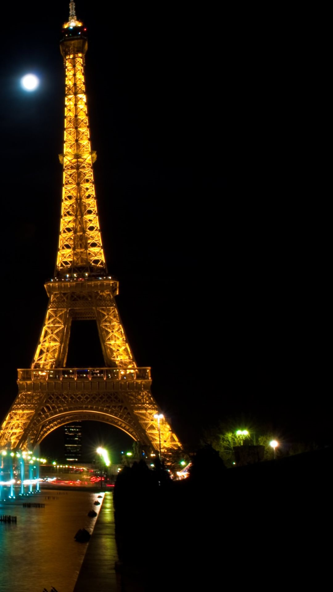 paris at night tour eiffel hd wallpapers 4k macbook and