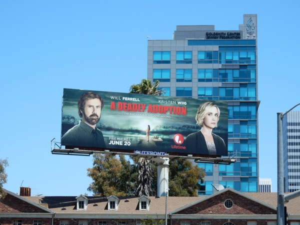 Deadly Adoption Lifetime movie billboard