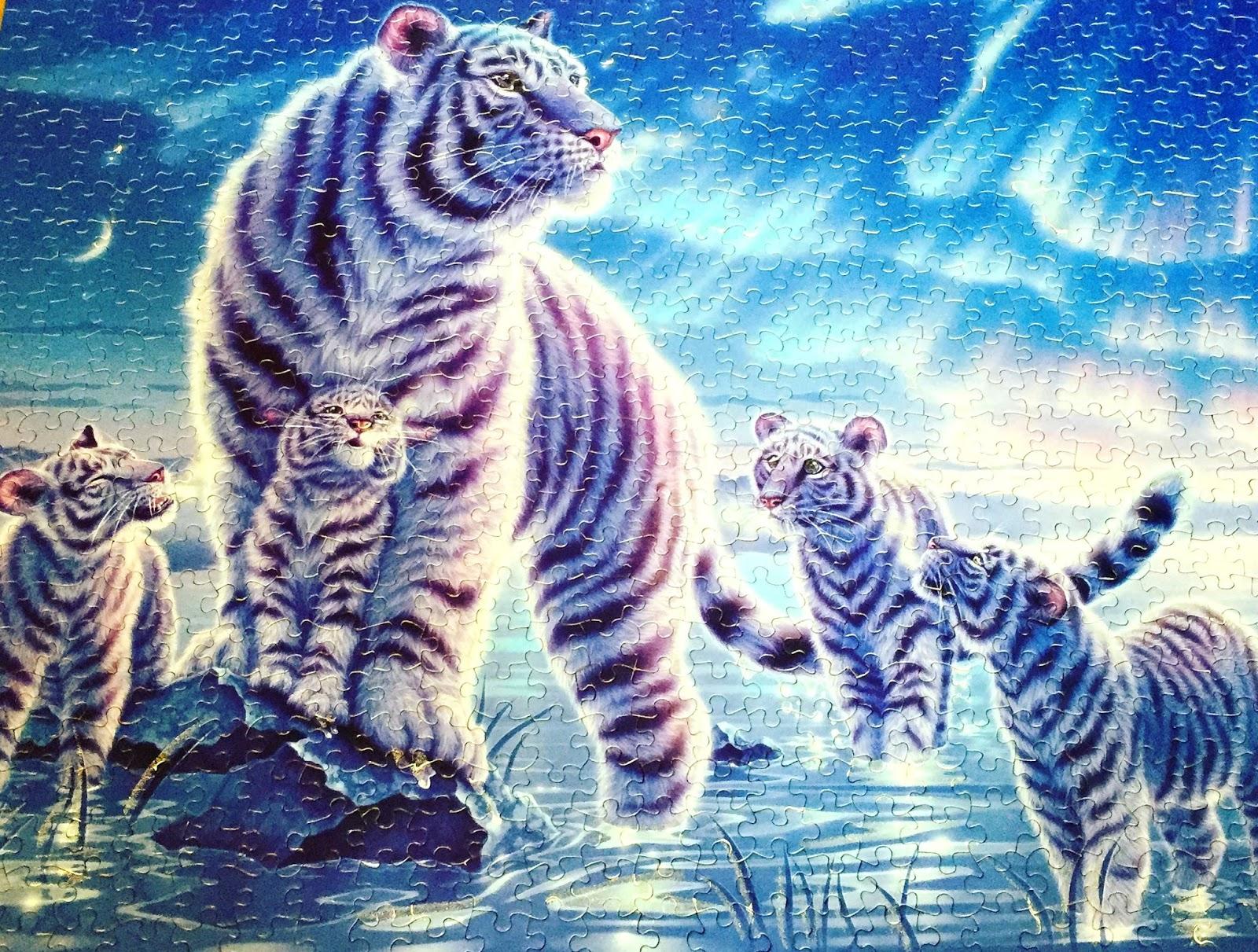 tiger puzzle 1000 teile