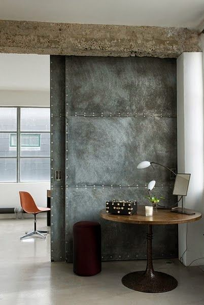 Eye For Design Decorate With Industrial Metal Walls