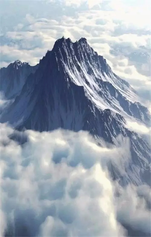 Kurtosis - Mount Olympus is the highest mountain in Greece