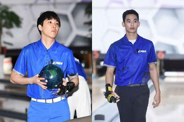 Lewati Putaran Pertama Kualifikasi Pro-bowling! Kim Soo Hyun dan Hongki