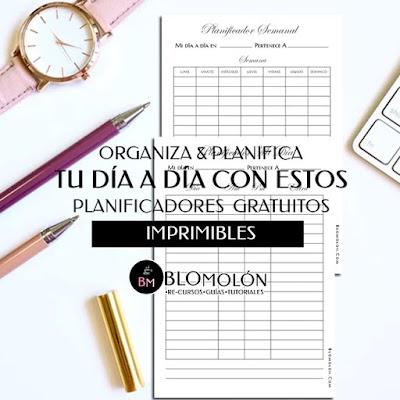 Organiza & Planifica Tu Día A Día Con Estos Planificadores Gratuitos