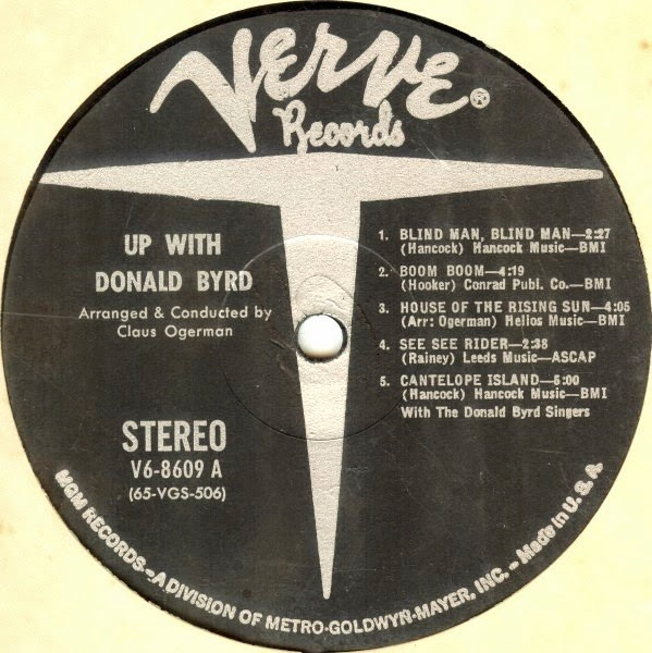 I Am Rider Mp3 Downlode: Music Crates: Donald Byrd Up With Donald Byrd 1964