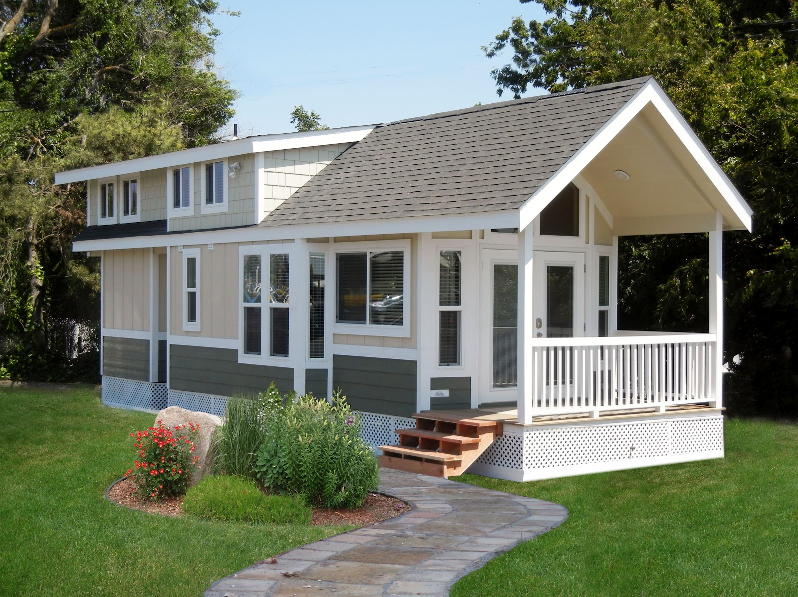 A Dozen Luxury Park Model Cabins Are Available For
