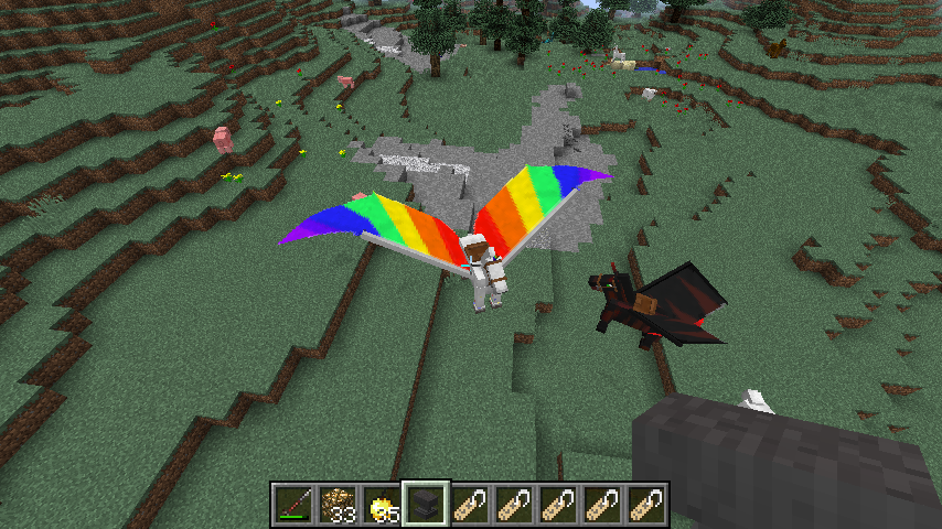 how to get a unicorn in minecraft